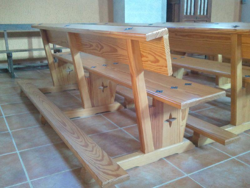 Muebles de madera modernos, trabajos de carpintería para obra nueva